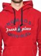 Frank NY Sweatshirt Bordo